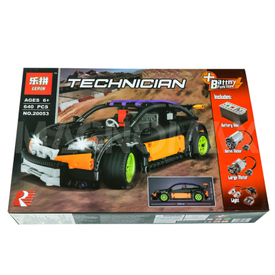 Конструктор Lepin 20053 / ЛЕГО Hatchback Type R создан в ед. экз. (640 дет.) - 2